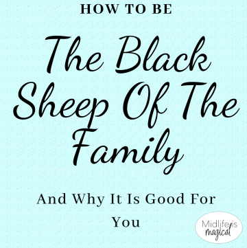 how to be the black sheep